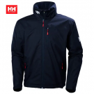 HH CREW MIDLAYER JACKET NAVY