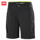 HH WOMEN QD CARGO SHORTS EBONY